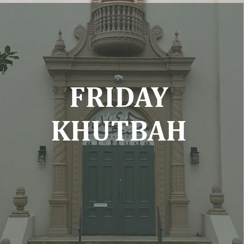 Jummah & Eid